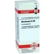 ABROTANUM D 30 Globuli