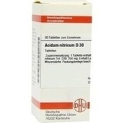 ACIDUM NITRICUM D 30 Tabletten