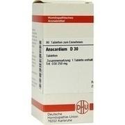 ANACARDIUM D 30 Tabletten