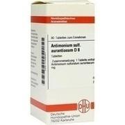 ANTIMONIUM SULFURATUM aurantiacum D 8 Tabletten