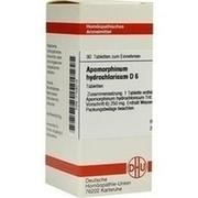 APOMORPHINUM HYDROCHLORICUM D 6 Tabletten