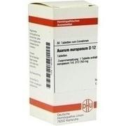 ASARUM EUROPAEUM D 12 Tabletten