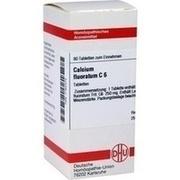 CALCIUM FLUORATUM C 6 Tabletten