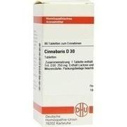 CINNABARIS D 30 Tabletten