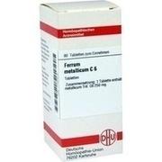 FERRUM METALLICUM C 6 Tabletten
