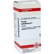 FERRUM METALLICUM D 5 Tabletten