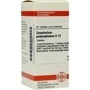 GNAPHALIUM POLYCEPHALUM D 12 Tabletten