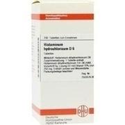 HISTAMINUM hydrochloricum D 6 Tabletten