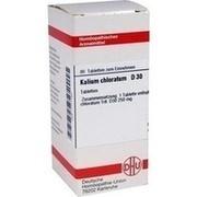 KALIUM CHLORATUM D 30 Tabletten