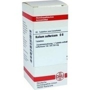 KALIUM SULFURICUM D 8 Tabletten