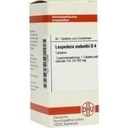 LESPEDEZA SIEBOLDII D 4 Tabletten