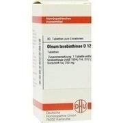 OLEUM TEREBINTHINAE D 12 Tabletten