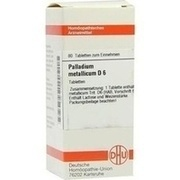 PALLADIUM METALLICUM D 6 Tabletten