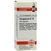 PYROGENIUM D 15 Globuli