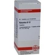 RATANHIA D 12 Tabletten