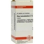 RHUS TOXICODENDRON C 15 Tabletten