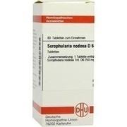 SCROPHULARIA NODOSA D 6 Tabletten