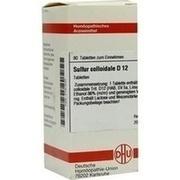SULFUR COLLOIDALE D 12 Tabletten