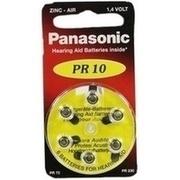 BATTERIEN f.Hörgeräte Panasonic PR10