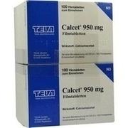 CALCET 950 mg Filmtabletten