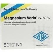 MAGNESIUM VERLA i.v. 50% Infus.-Lsg.