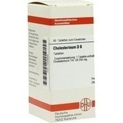 CHOLESTERINUM D 8 Tabletten