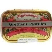 GRETHERS Redcurrant+Vitamin C.zf.Pastillen