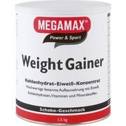 WEIGHT GAINER Megamax Schoko Pulver