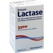 LACTASE 3.300 FCC 200 mg Kapseln