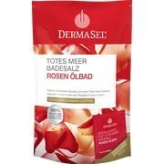 DERMASEL Totes Meer Badesalz+Rose SPA