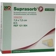 SUPRASORB P PU-Schaumv.nicht klebend 7,5x7,5 cm