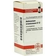 ANTIMONIUM ARSENICOSUM D 12 Globuli