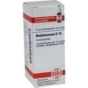 MOLYBDAENUM D 10 Globuli