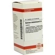 NATRIUM CHOLEINICUM D 4 Tabletten
