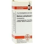 NATRIUM SALICYLICUM D 30 Globuli
