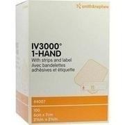 OPSITE IV 3000 6x7 cm transp.Kanülenfixier.