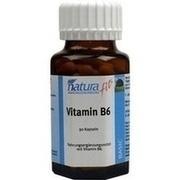 NATURAFIT Vitamin B6 Kapseln