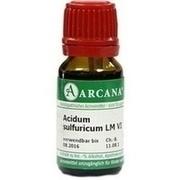 ACIDUM SULFURICUM LM 6 Dilution