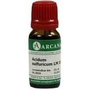 ACIDUM SULFURICUM LM 18 Dilution