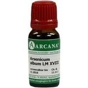 ARSENICUM ALBUM LM 18 Dilution