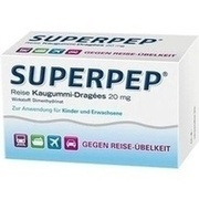 SUPERPEP Reise Kaugummi Dragees 20 mg