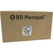 BD PLASTIPAK Spr.50 ml Luer exzentr.