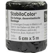 BORT StabiloColor Binde 6cm schwarz
