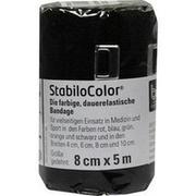 BORT StabiloColor Binde 8 cm schwarz