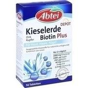 ABTEI Kieselerde Plus Biotin Depot Tabletten