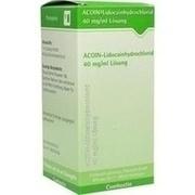 ACOIN-Lidocainhydrochlorid 40 mg/ml Lösung