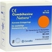 COMBIHESIVE Natura Einlageringe konvex 38/19mm