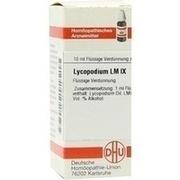LM LYCOPODIUM IX Dilution