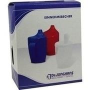EINNEHMEBECHER m.Griff+Deckel 12mm grün