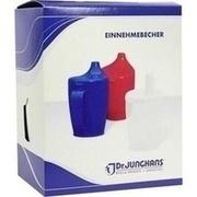 EINNEHMEBECHER m.Griff+Deckel 12mm weiß